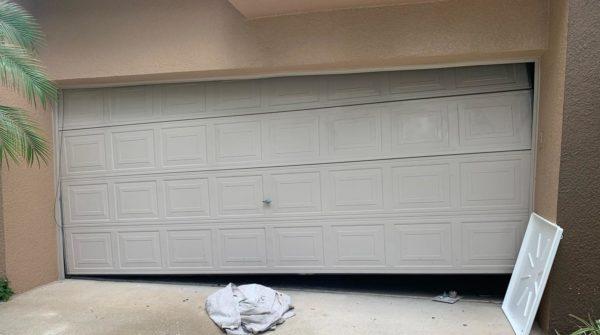 Shifted / Off Track Garage Door In Leesburg Fl